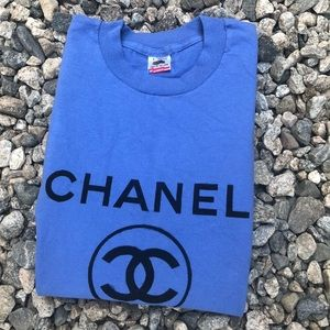 Other - VTG 80's/90's Chanel Paris Bootleg T-Shirt